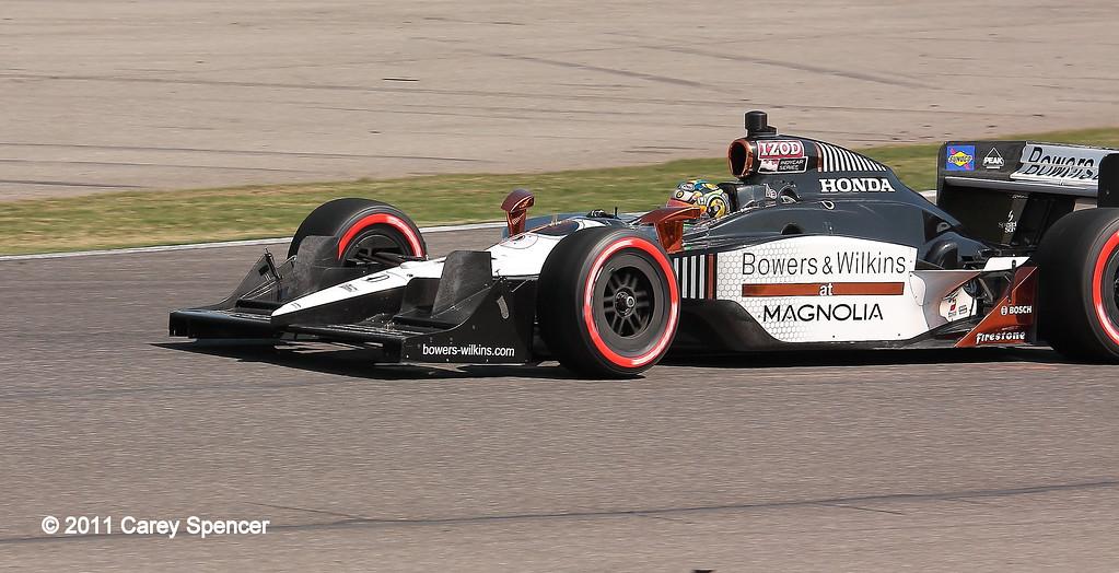 Sam Schmidt Motorsports Alex Tagliani No. 77 IndyCar at Barber