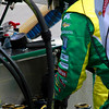 IndyCar Tony Kanaan Team Replaces Rear Damper Spring Assembly Barber