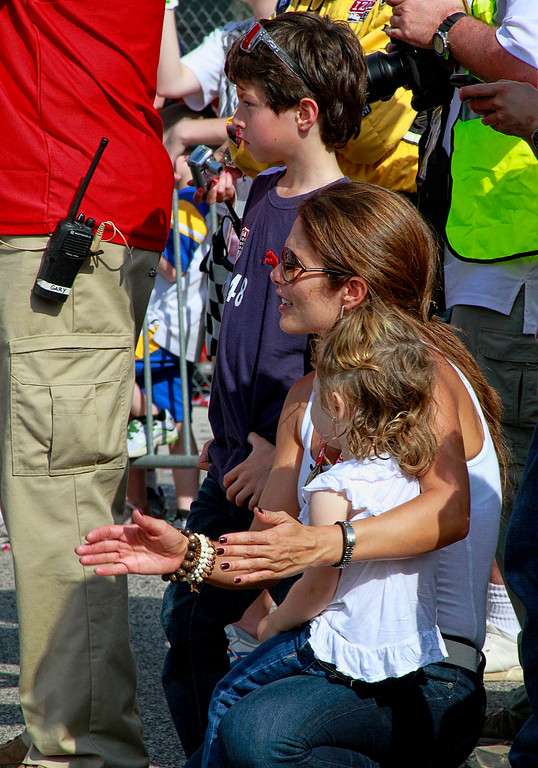 Family Fans and Friends Celebrate in Victory Lane Barber Motorsports Park
