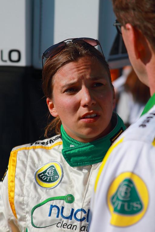 IndyCar Driver Simona de Silvestro Barber Motorsports Park Alabama