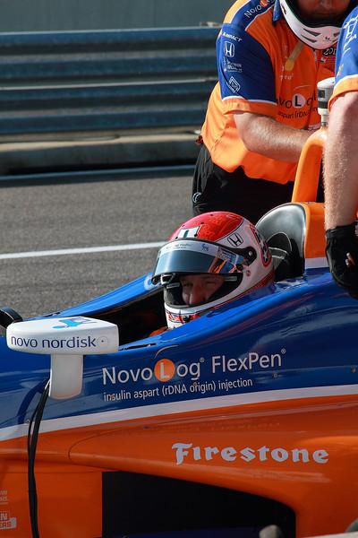 IndyCar Driver Charlie Kimball Novo Nordisk Chip Ganassi Racing