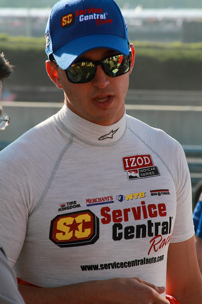 IndyCar Driver Graham Rahal Service Central Chip Ganassi Racing
