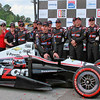 No. 12 Penske Racing Verizon IndyCar Team Victory Lane Barber