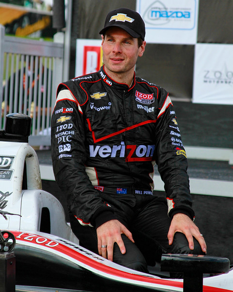 Will Power Chevy Hat 2012 Barber IndyCar Winner Victory Lane