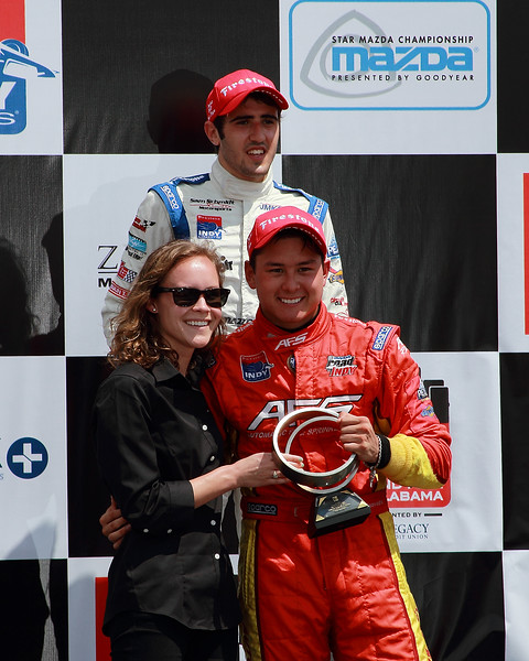 Firestone Indy Lights Podium Barber