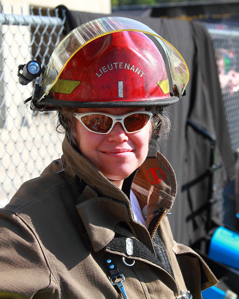 Some of Birmingham's Finest Fire Fighters Worked the Grand-Am and IndyCar Races 2012 Barber