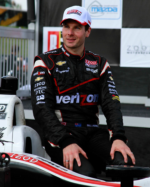 Izod IndyCar Will Power 1st Place Barber Motorsports Park