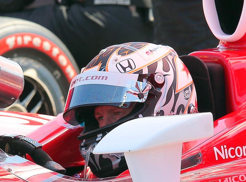 IndyCar Driver Scott Dixon