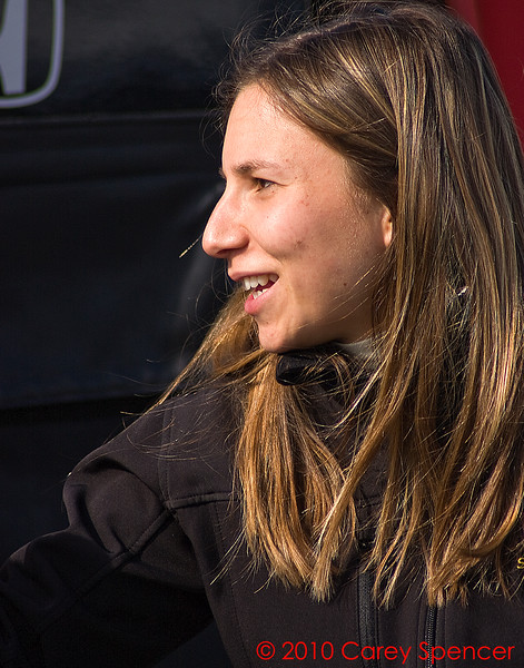 Izod IndyCar  Series Driver Simona De Silvestro HVM Racing
