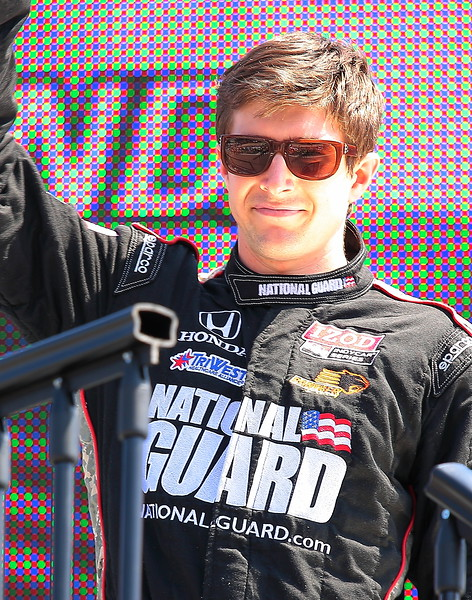 IndyCar Driver JR Hildebrand