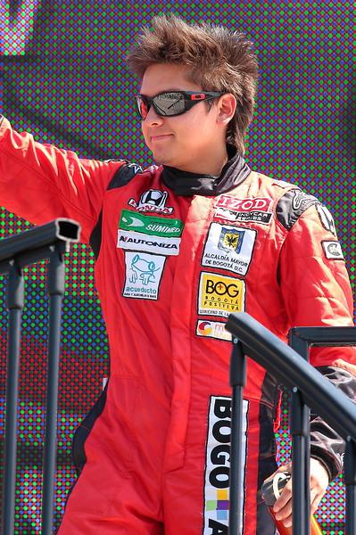 IndyCar Driver Sebastian Saavedra