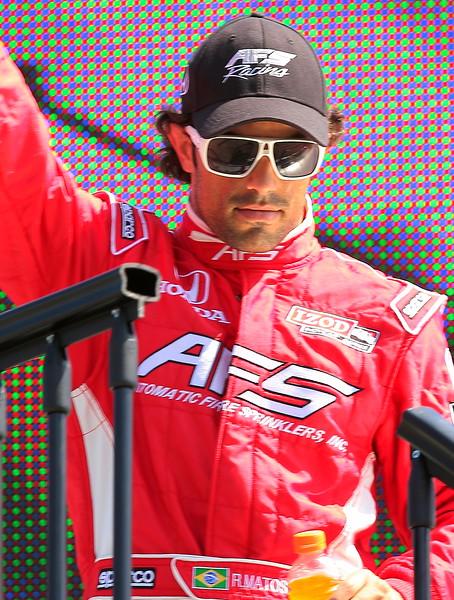 IndyCar Driver Raphael Matos