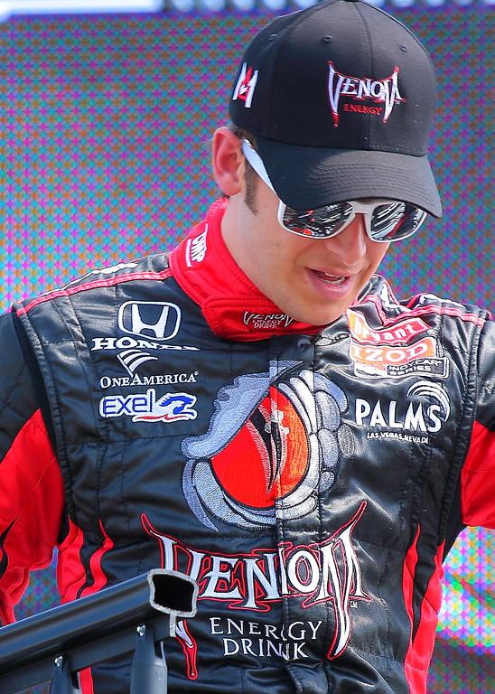 IndyCar Driver Marco Andretti
