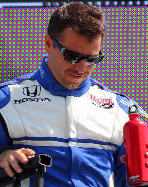 IndyCar Driver Oriol Servia