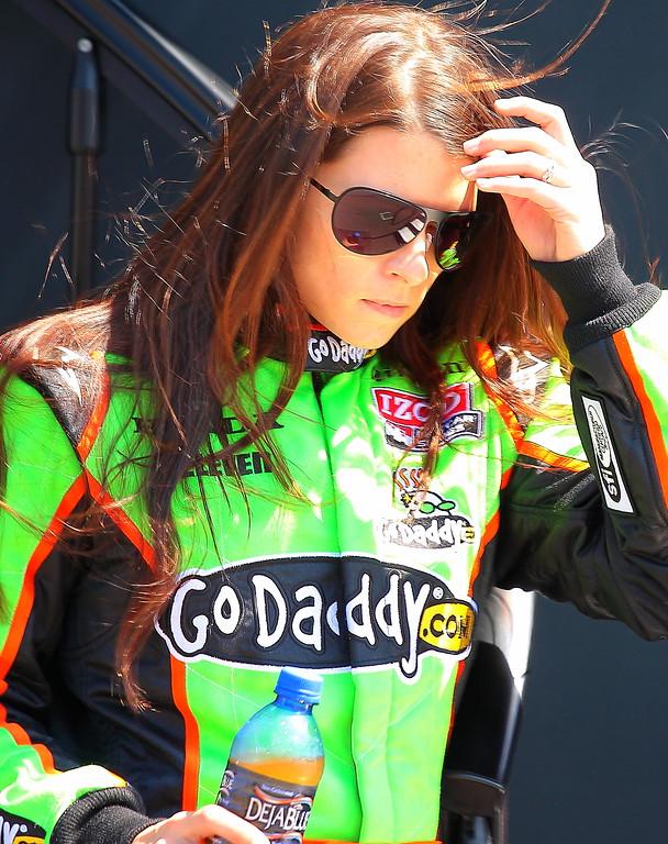 IndyCar Driver Danica Patrick