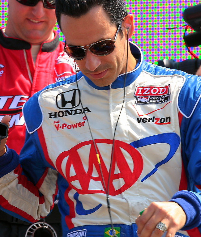 Team Penske Helio Castroneves