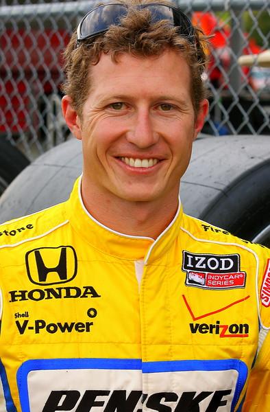 IndyCar Driver Ryan Briscoe