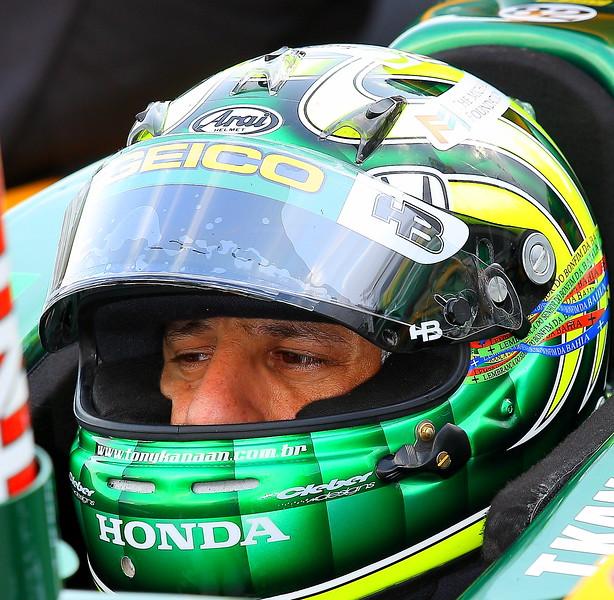 IndyCar Driver Tony Kanaan