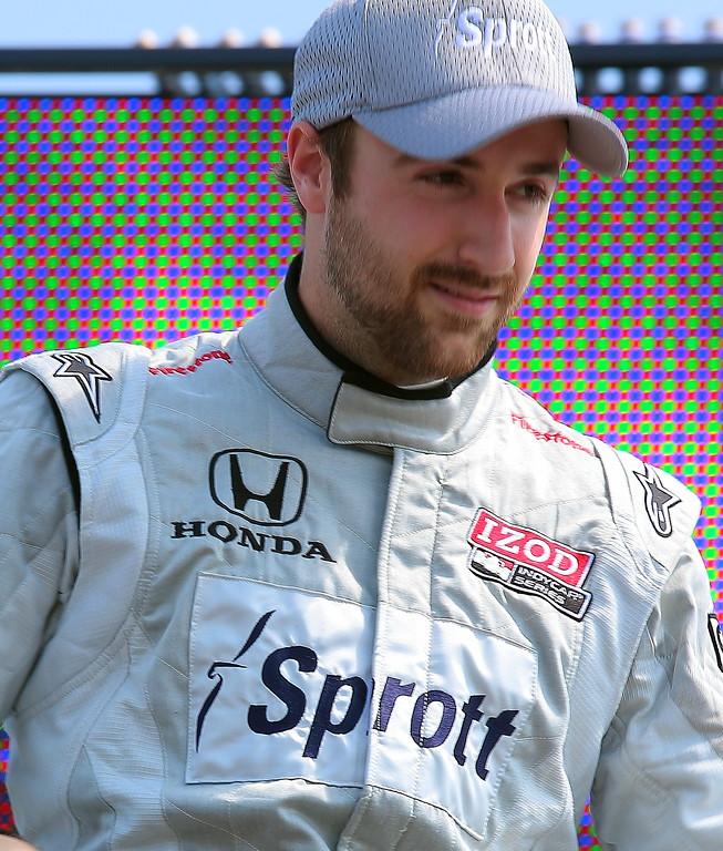 IndyCar Driver James Hinchcliffe