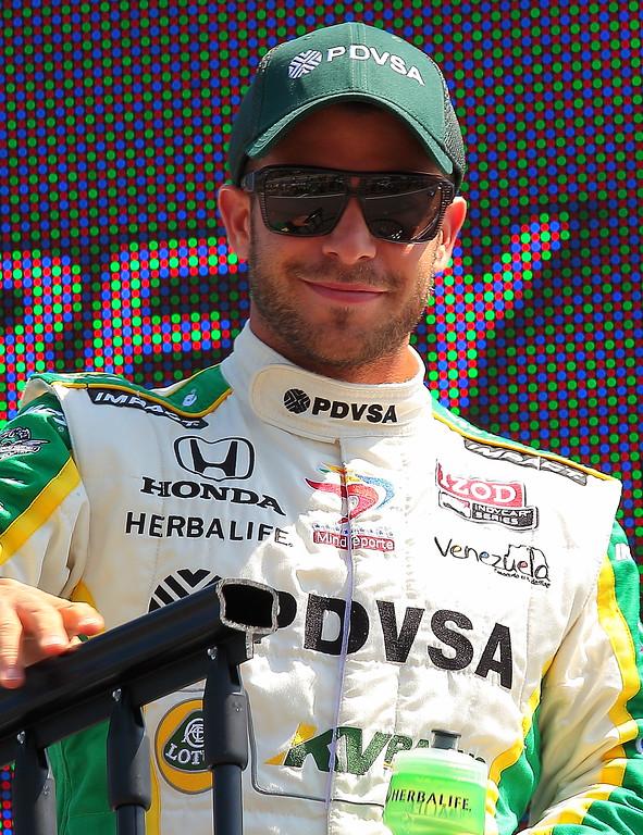 IndyCar Driver EJ Viso