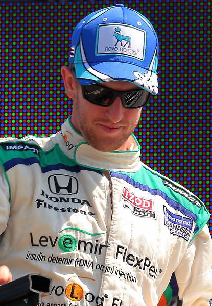 IndyCar Driver Charlie Kimball