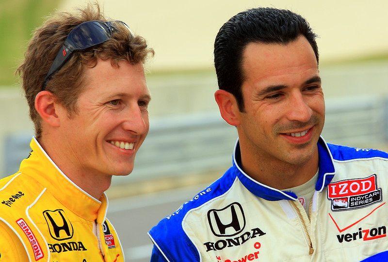 Briscoe and Castroneves
