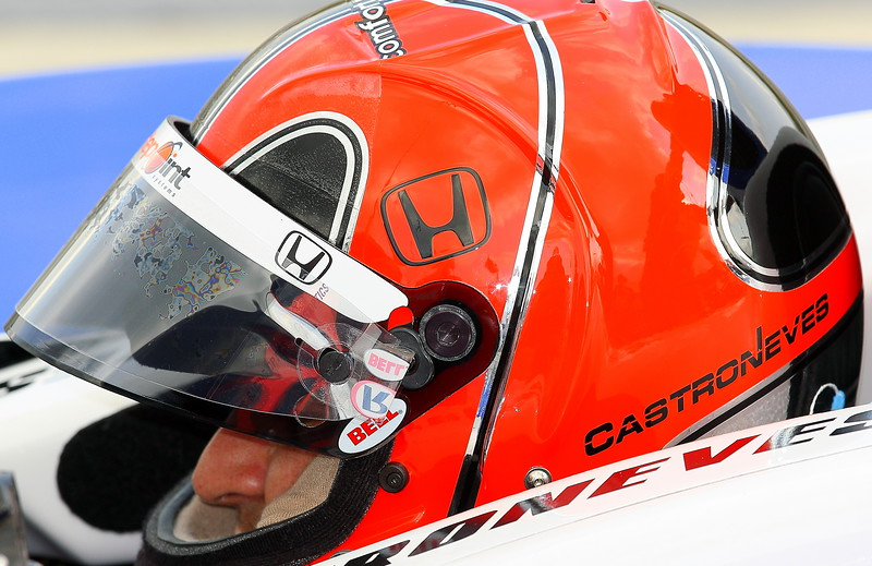 Penske Driver Helio Castroneves
