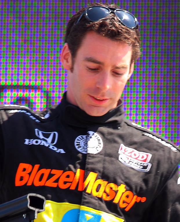 IndyCar Driver Simon Pagenaud