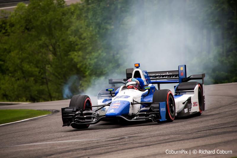 #18 smokes tires
