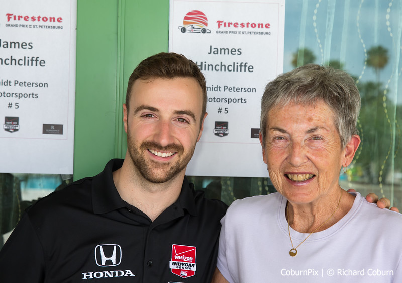 James Hinchcliffe & Barb Coburn