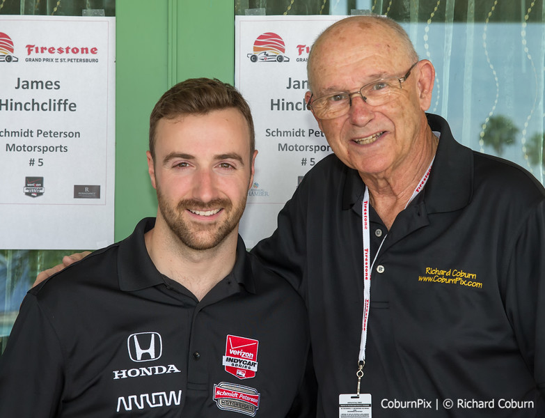 James Hinchcliffe & Dick Coburn