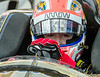 5 James Hinchcliffe helmet debrief