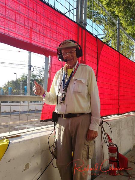 Richard on duty