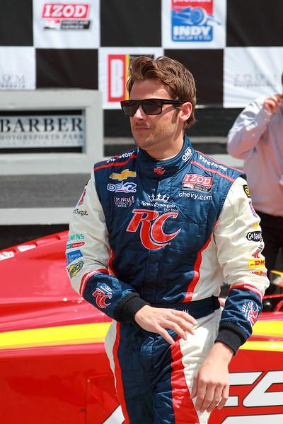 IndyCar Driver Marco Andretti Barber Motorsports Park