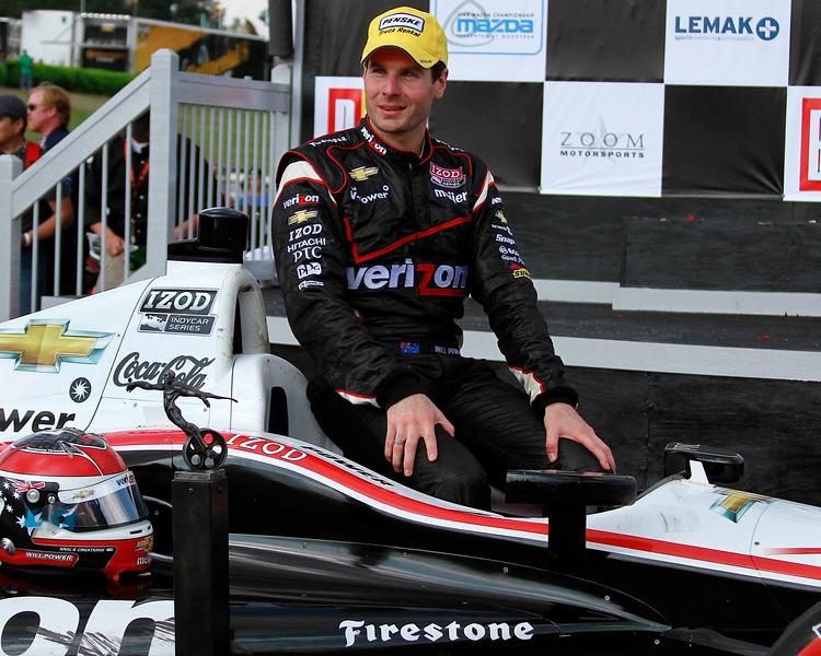 Penske Racing Will Power Victory Lane 2012 Indy Grand Prix of Alabama