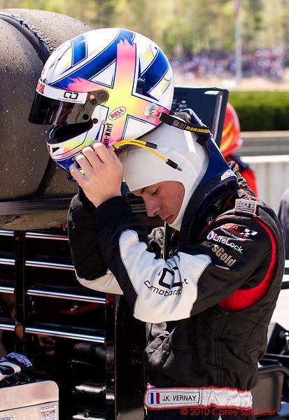 J.K. Vernay prepares for Firestone Indy Lights race Barber Motorsports Park Alabama