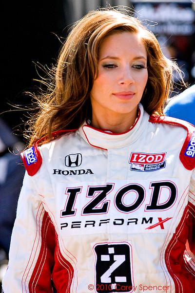 Izod Indycar Series Podium Girl at Barber Motorsports Park