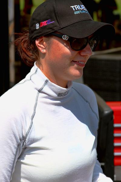 No. 6 True Racing IndyCar Rookie Katherine Legge at Barber Motorsports Park