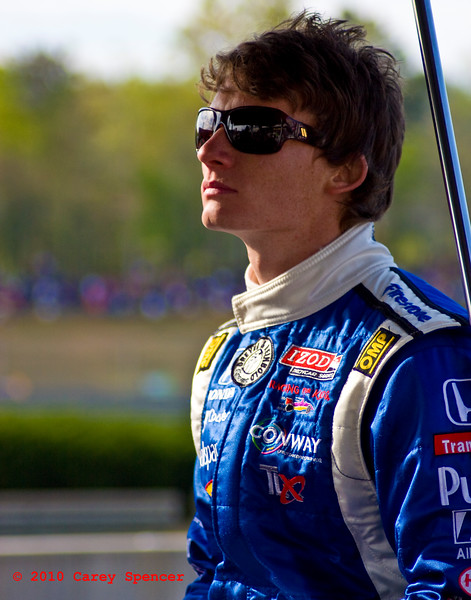 Mike Conway Izod Indycar Series Driver