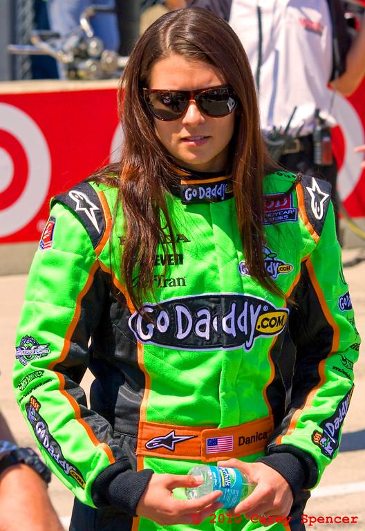 NASCAR Nationwide, Izod IndyCar and GoDaddy Driver Danica Patrick