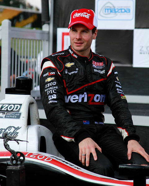 Coca Cola Will Power IndyCar Victory Lane Barber 2012