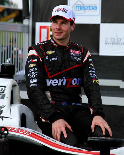Izod IndyCar Will Power 1st Place Barber Motorsports Park