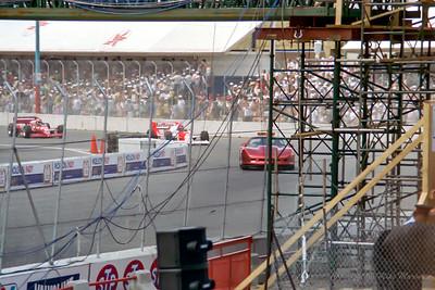 No.20 Emerson Fittipaldi. No.3 Bobby Rahal.