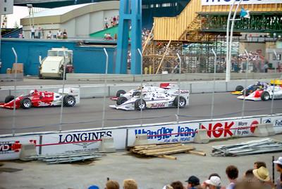 No.4 Danny Sullivan. No.2 Roberto Guerrero. No.71 Jacques Villeneuve.