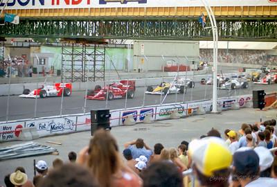 No.20 Emerson Fittipaldi. No.3 Bobby Rahal. No.5 Mario Andretti. No.9 Roberto Moreno.