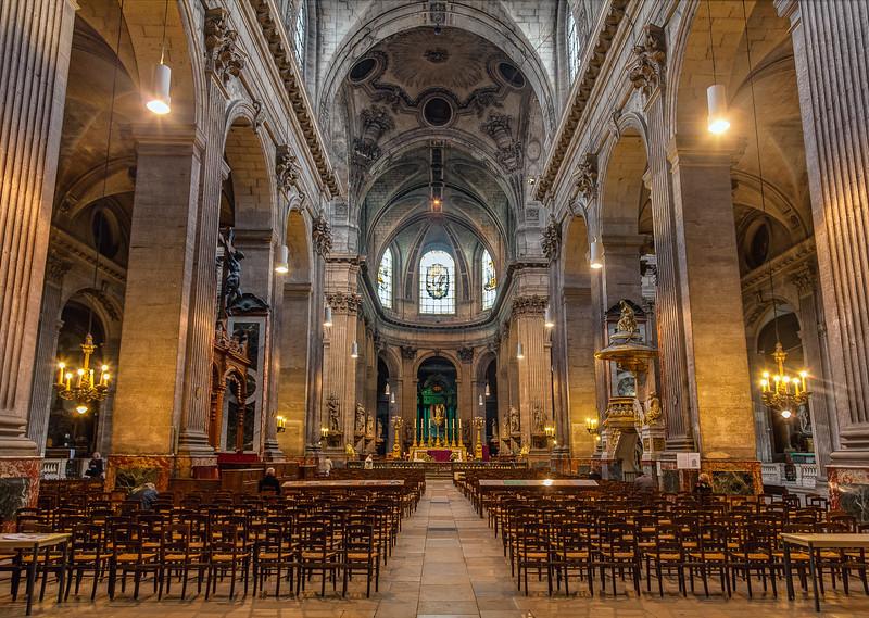 St. Sulpice, Paris (March 2015)