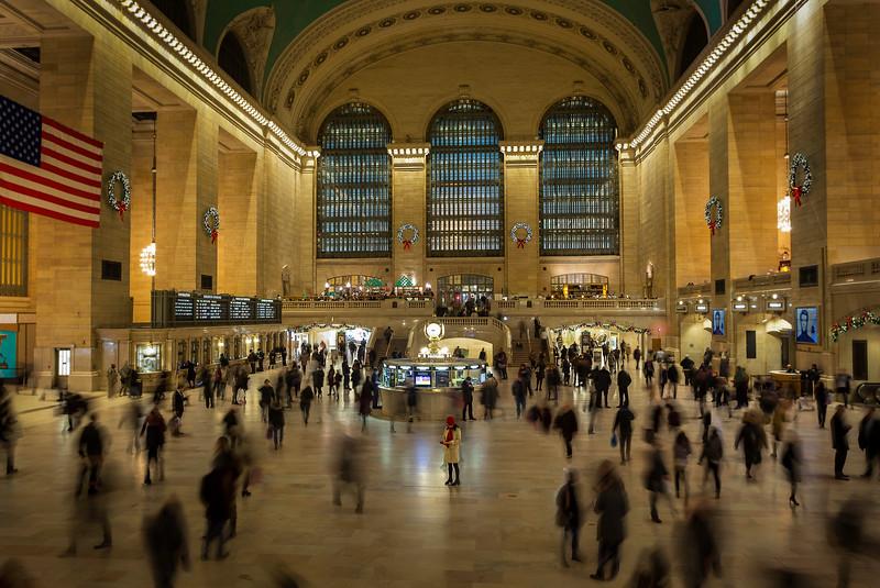 Grand Central, New York (December 2016)