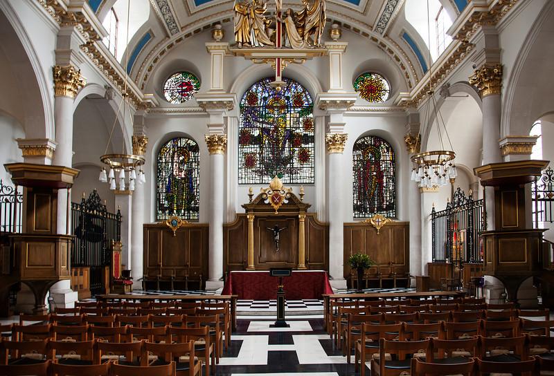 St. Brides, London (November 2012)
