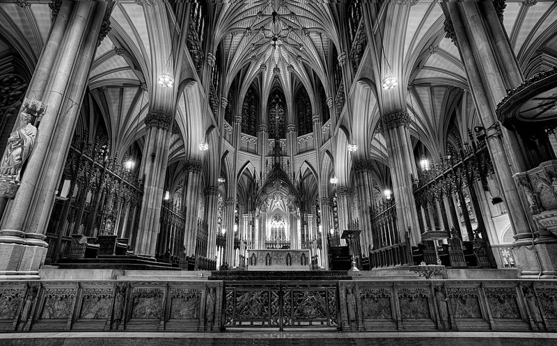 St. Patrick's Cathedral, New York (January 2011)