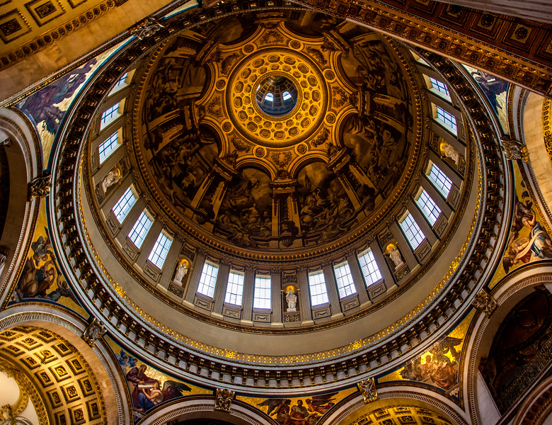 Dome of St. Paul's Cathedral, London (November 2012)